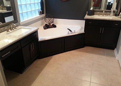 dark bathroom cabinet refacing phoenix cabinet cures