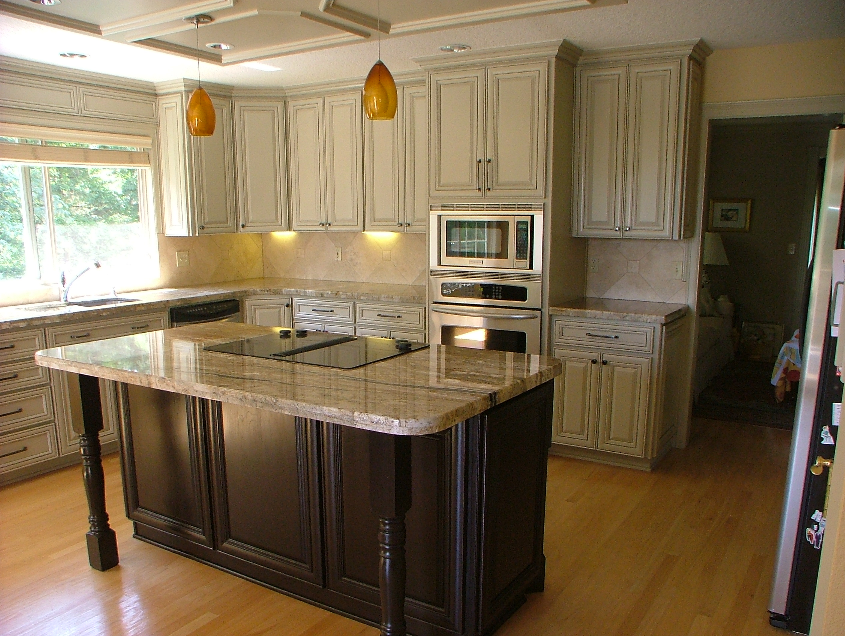 marble counters and tan cabinets phoenix cabinet cures