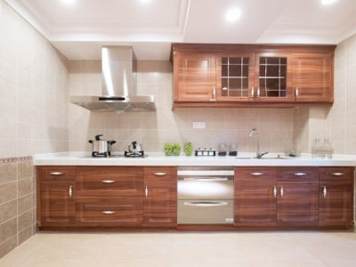 single wall kitchen