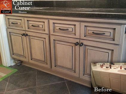 bathroom cabinet refacing phoenix cabinet cures