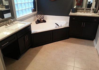 dark bathroom cabinet refacing phoenix cabinet cures