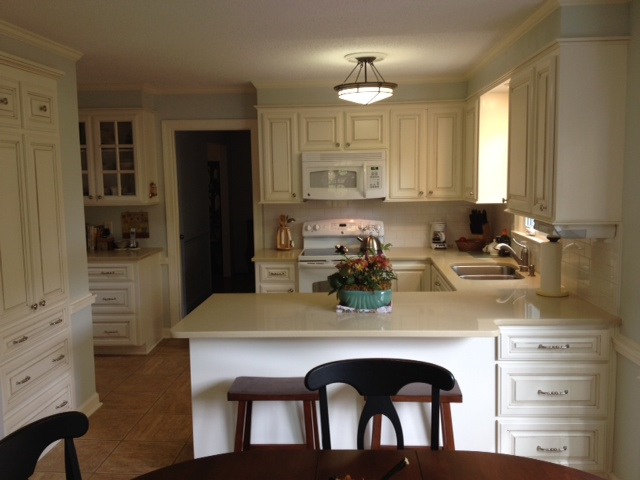 white kitchen cabinets white counters phoenix cabinet cures