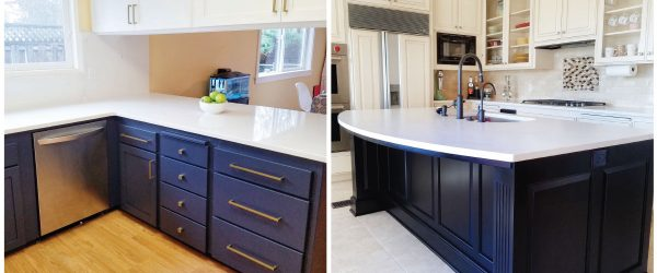 new cabinet refacing addition